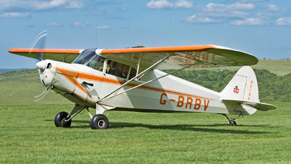 G-BRBV - Private Piper J4 Cub Cruiser