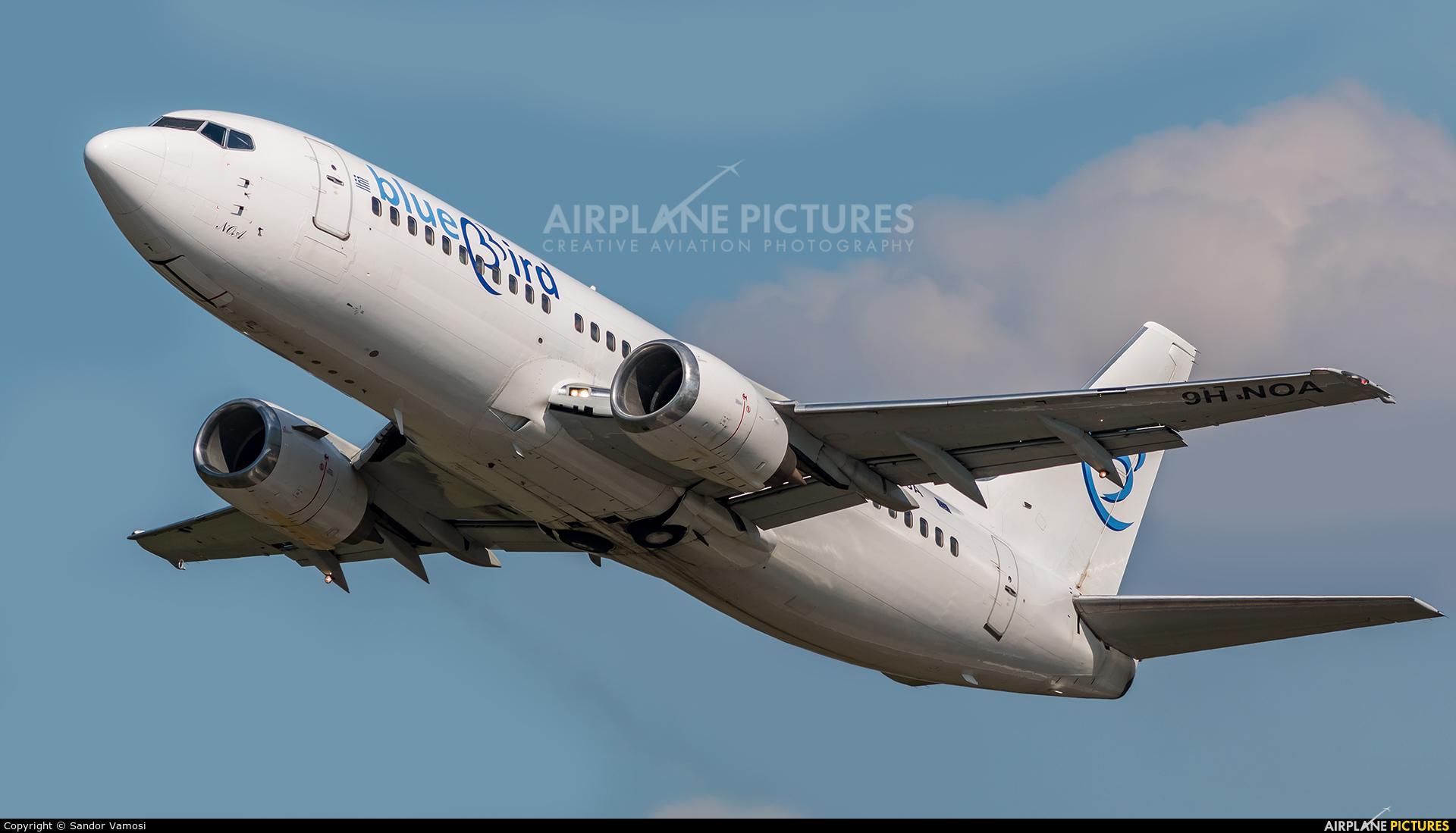 Bluebird Airways 9H-NOA aircraft at Budapest Ferenc Liszt International Airport