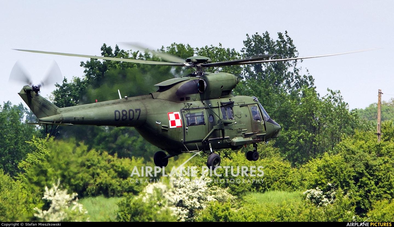 Poland - Army 0807 aircraft at Inowrocław - Latkowo