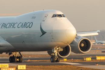 B-LJN - Cathay Pacific Cargo Boeing 747-8F