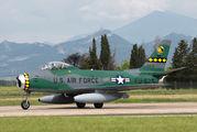 FU-675 - Privajet North American F-86 Sabre aircraft