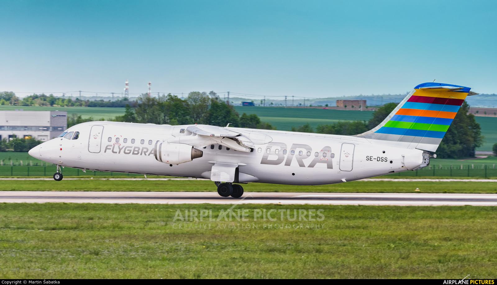 BRA (Sweden) SE-DSS aircraft at Brno - Tuřany