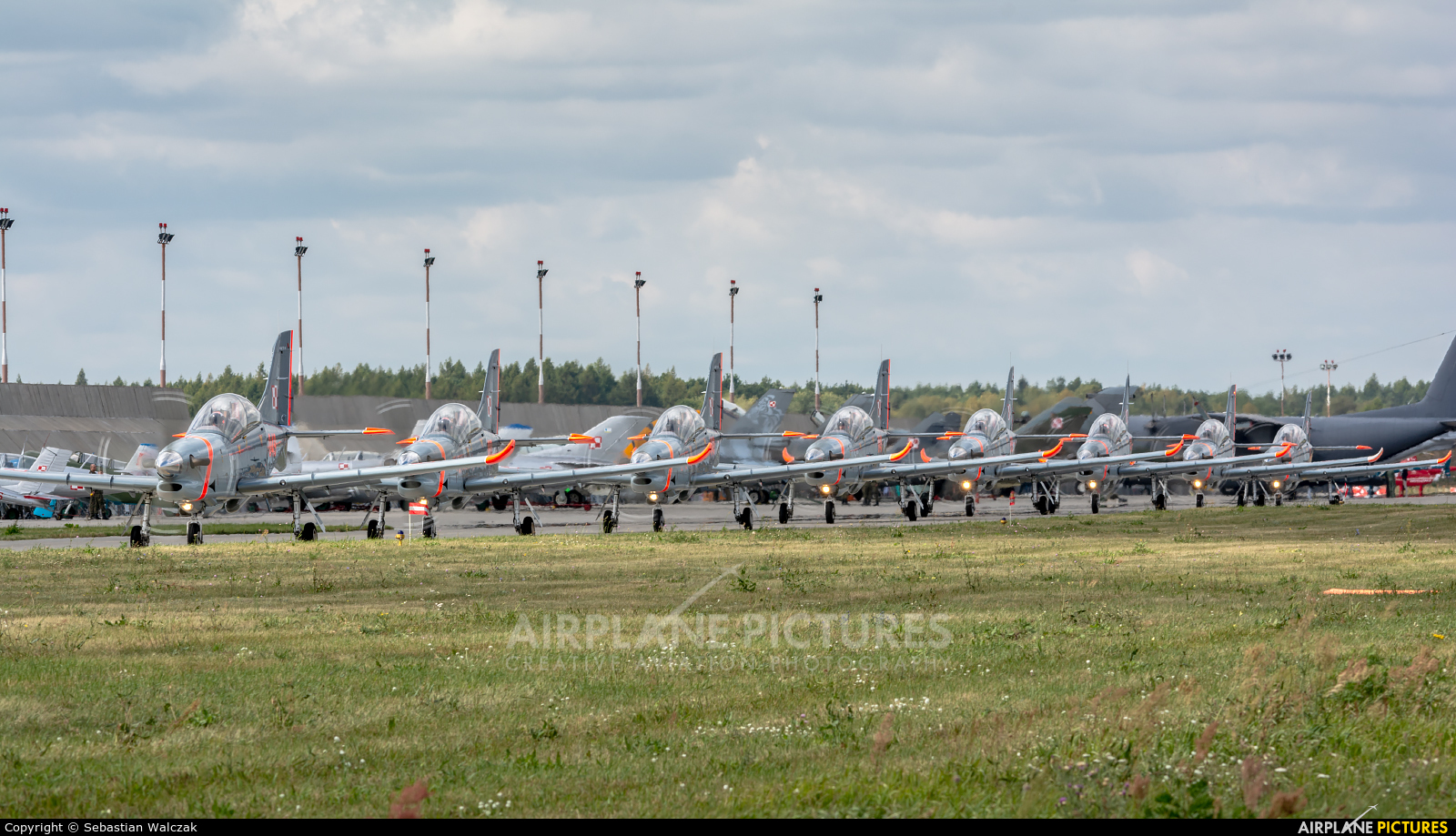 "Poland - Air Force ""Orlik Acrobatic Group"" 049 aircraft at Poznań - Krzesiny"