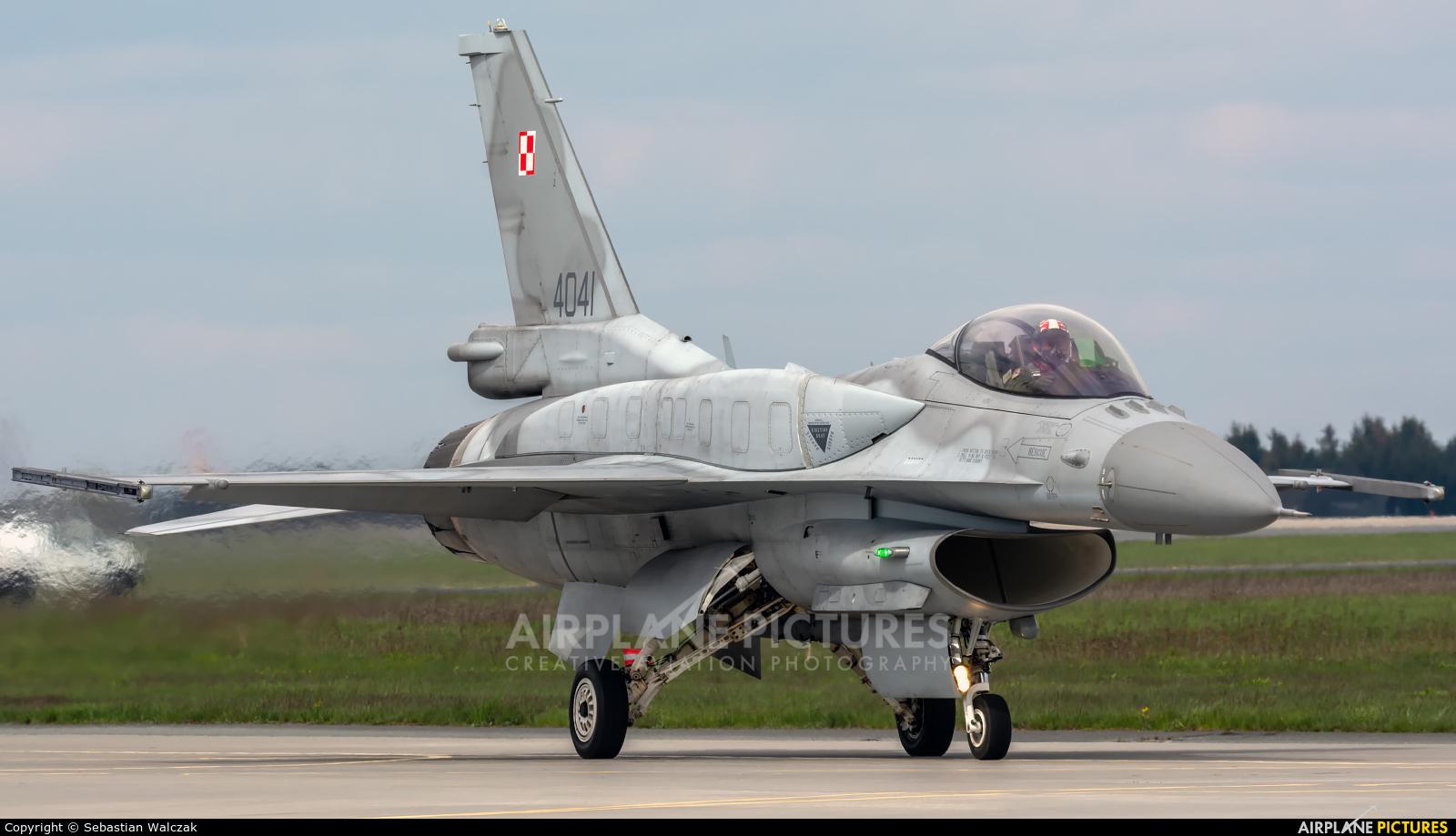 Poland - Air Force 4041 aircraft at Poznań - Krzesiny