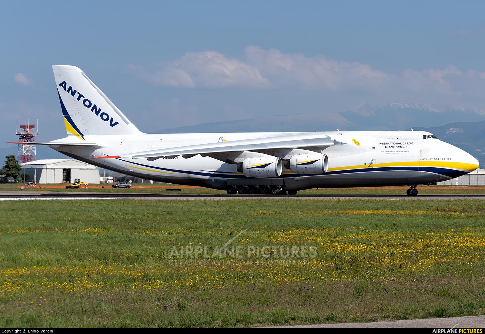 Antonov Airlines /  Design Bureau UR-82072 aircraft at Verona - Villafranca