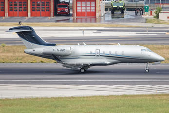 C-GJDU - Private Bombardier BD-100 Challenger 350 series