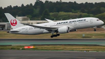 JA839J - JAL - Japan Airlines Boeing 787-8 Dreamliner