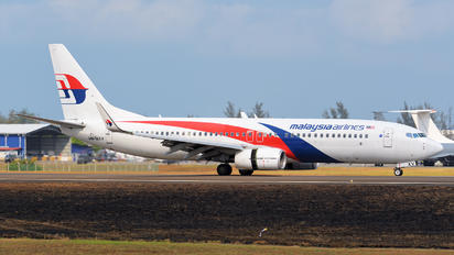 9M-MXV - Malaysia Airlines Boeing 737-800