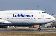 D-ABYG - Lufthansa Boeing 747-8 aircraft