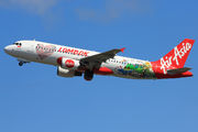 New special livery of Indonesia AirAsia A320 title=