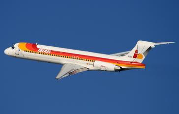 EC-FHD - Iberia McDonnell Douglas MD-87