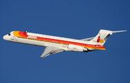 EC-FHD - Iberia McDonnell Douglas MD-87 aircraft