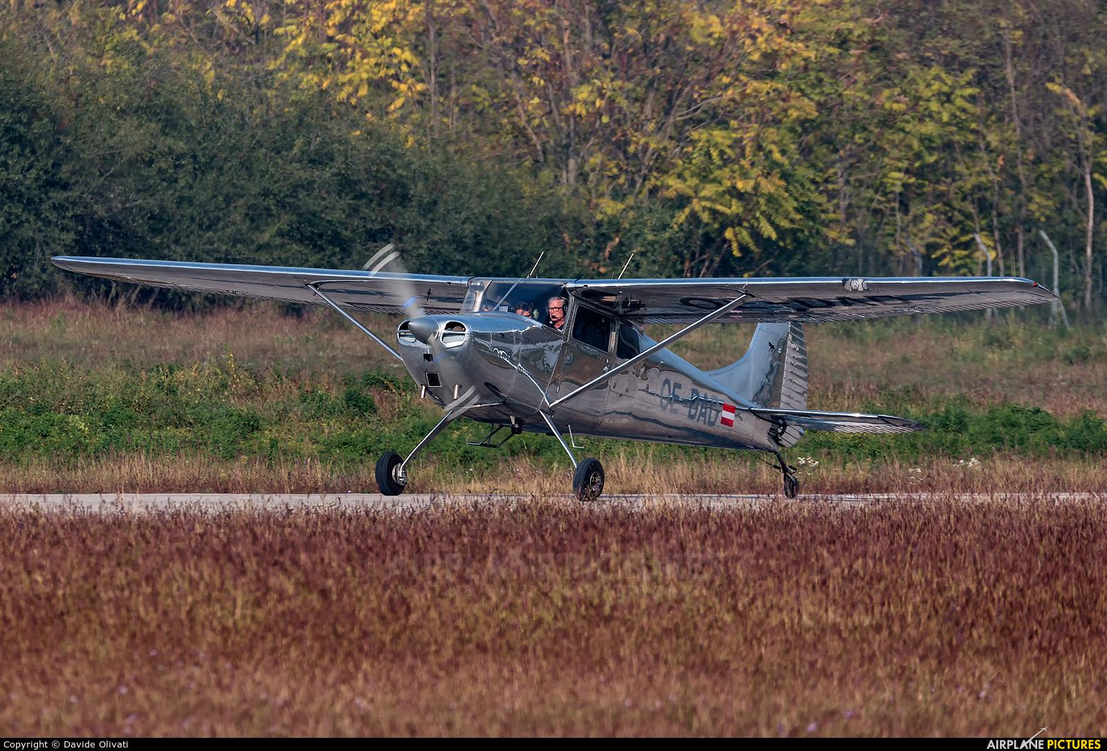 Private OE-DAD aircraft at Verona - Boscomantico