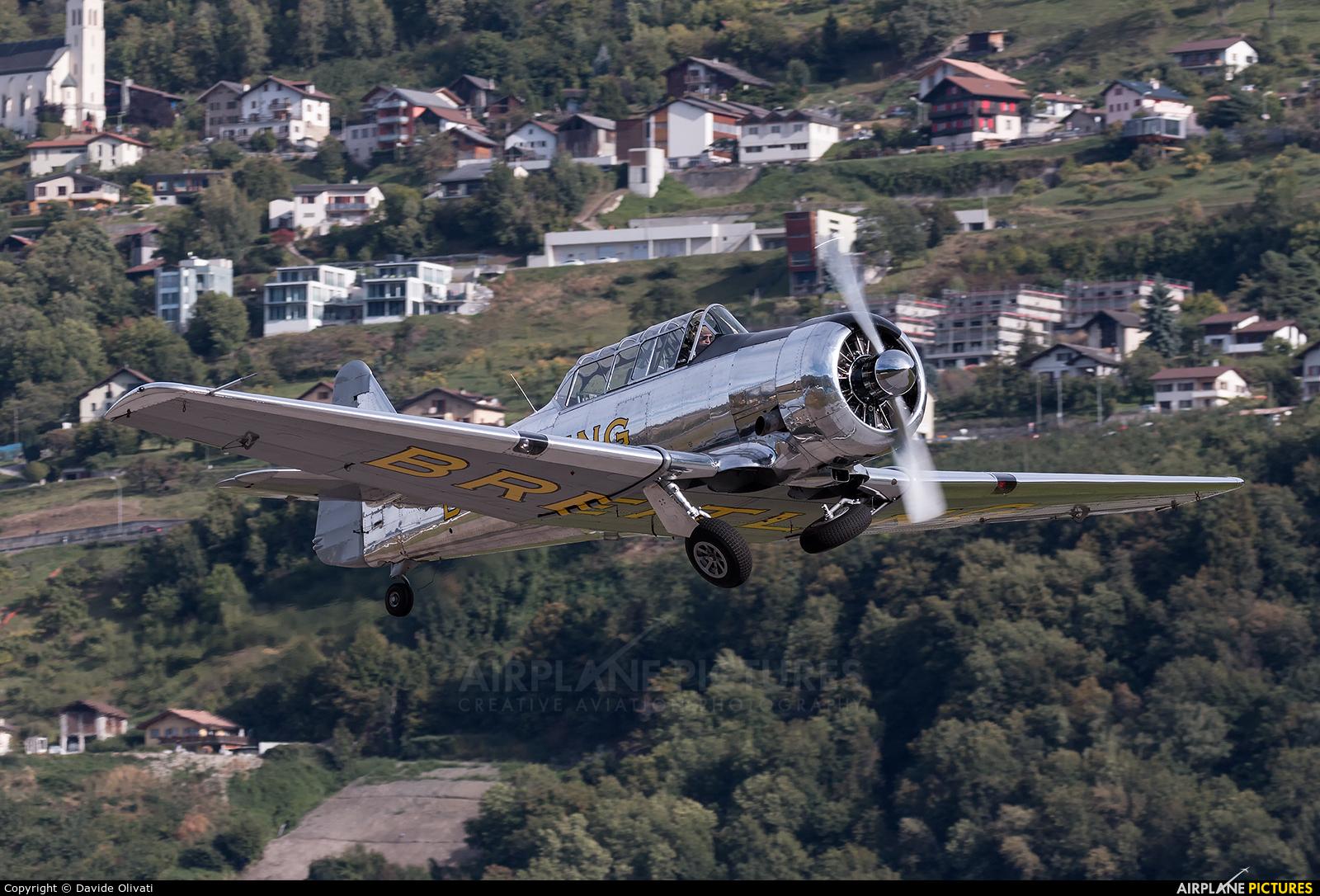 Private F-AZCQ aircraft at Sion
