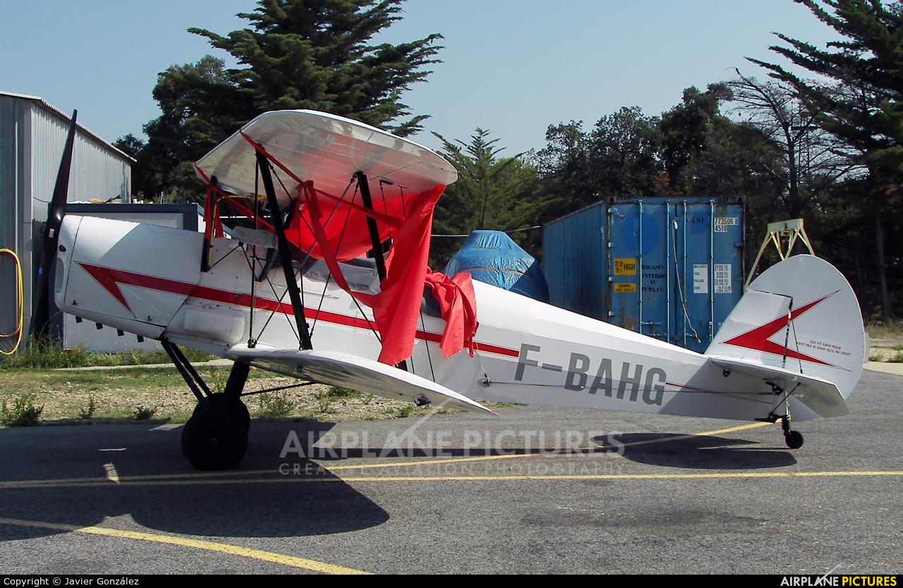 Private F-BAHG aircraft at Perpignan - Rivesaltes (Llabanere)