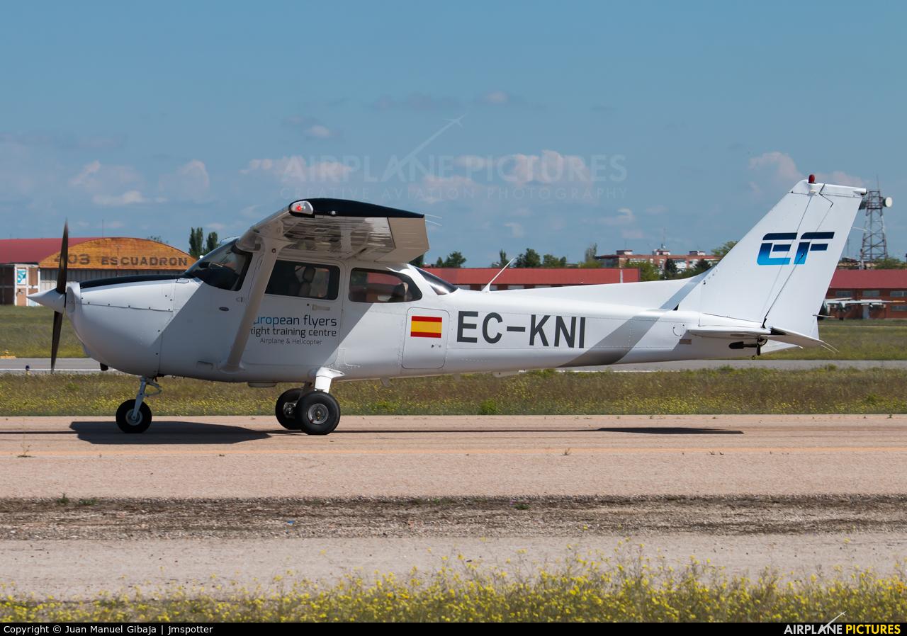 European Flyers EC-KNI aircraft at Madrid - Cuatro Vientos