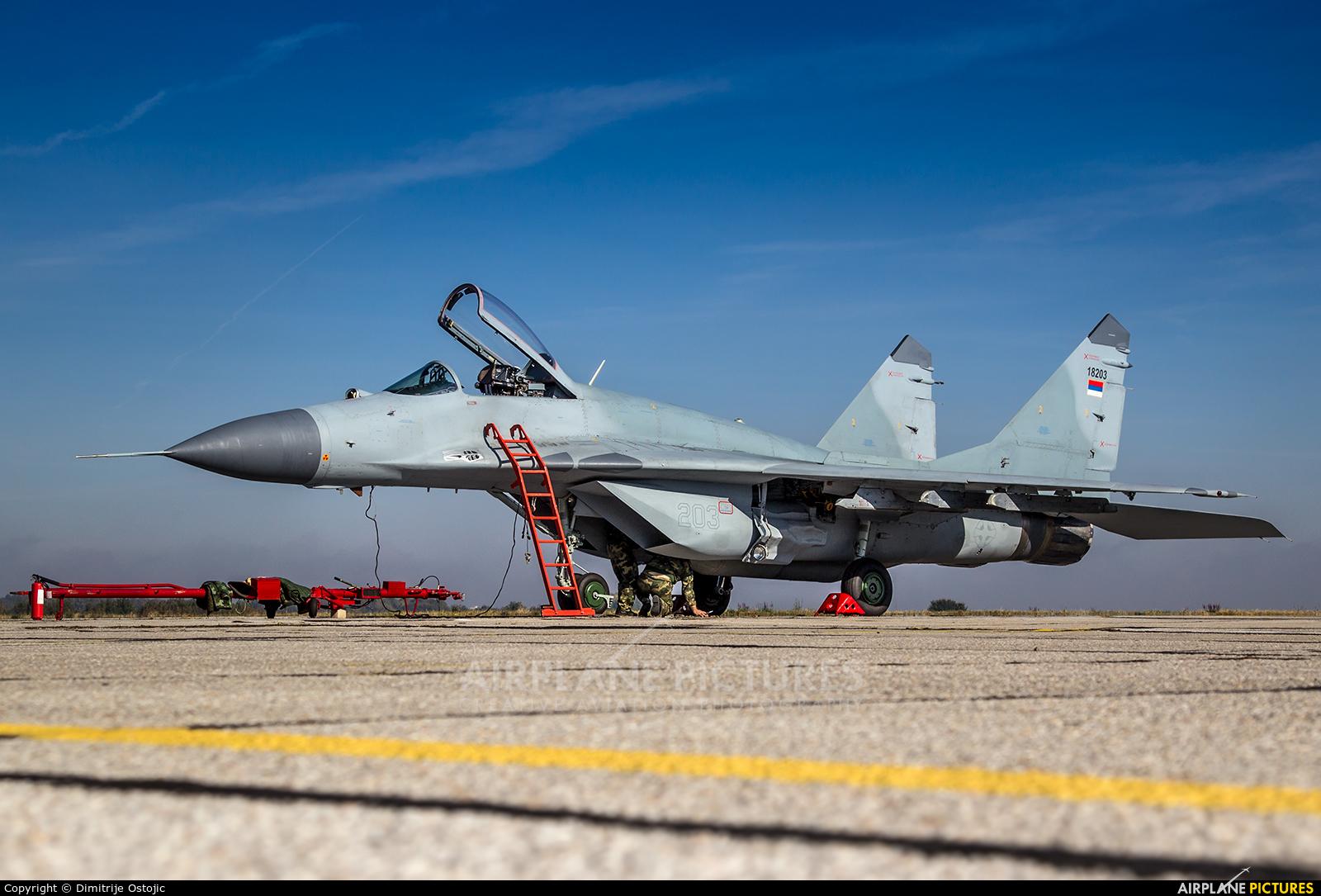 Serbia - Air Force 18203 aircraft at Batajnica