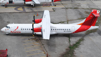 HK-5324X - Avianca ATR 72 (all models)