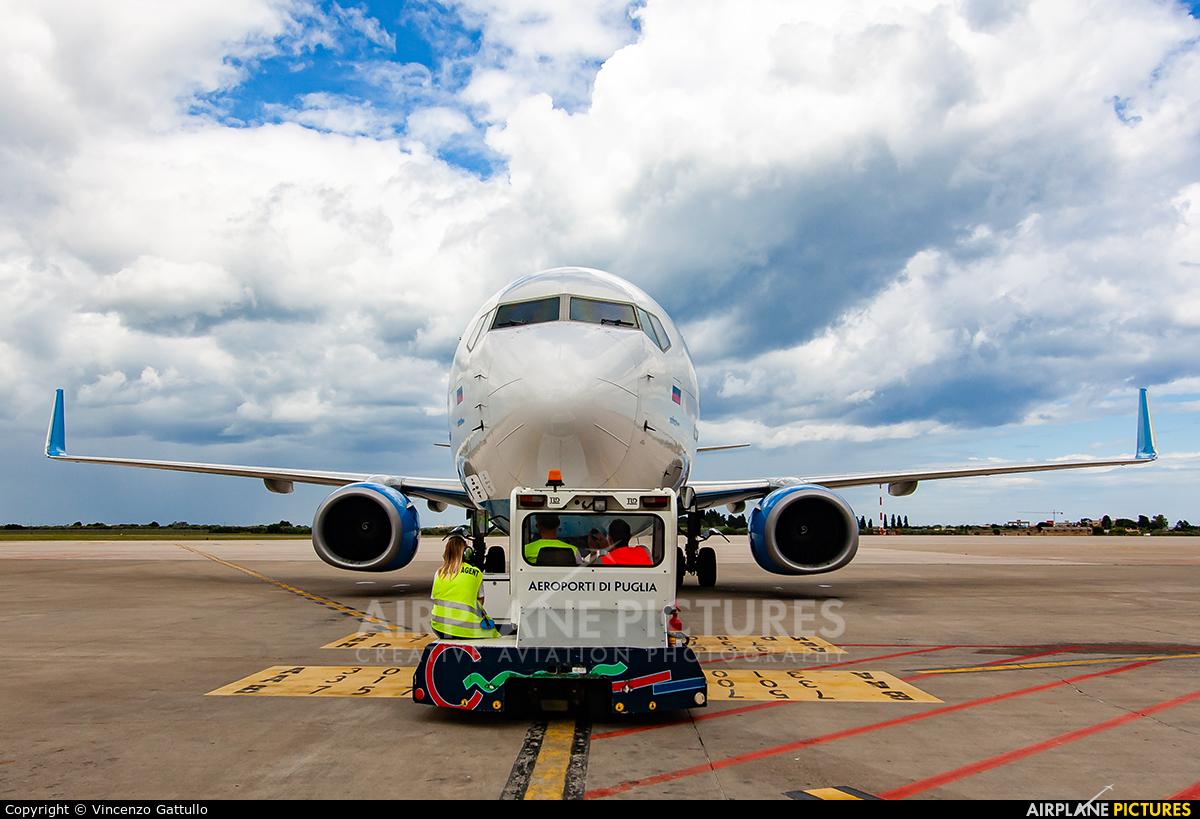 Pobeda VQ-BWI aircraft at Bari