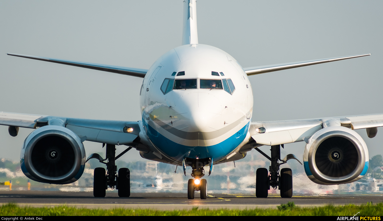 Enter Air SP-ESB aircraft at Warsaw - Frederic Chopin