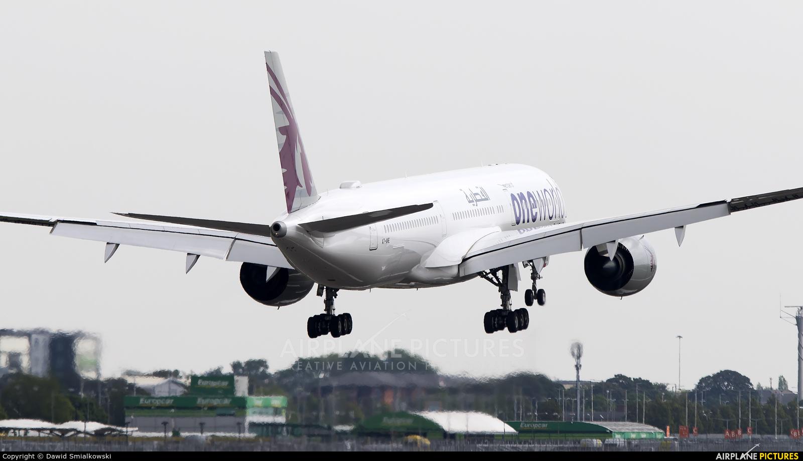 Qatar Airways A7-ANE aircraft at London - Heathrow