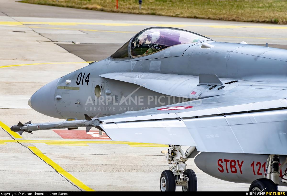 Switzerland - Air Force J-5014 aircraft at Meiringen