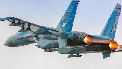 58 - Ukraine - Air Force Sukhoi Su-27P