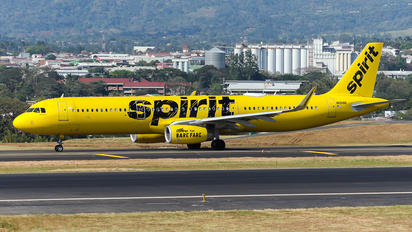 N661NK - Spirit Airlines Airbus A321