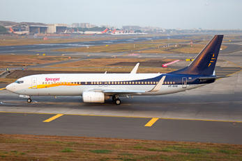 VT-SYM - SpiceJet Boeing 737-800