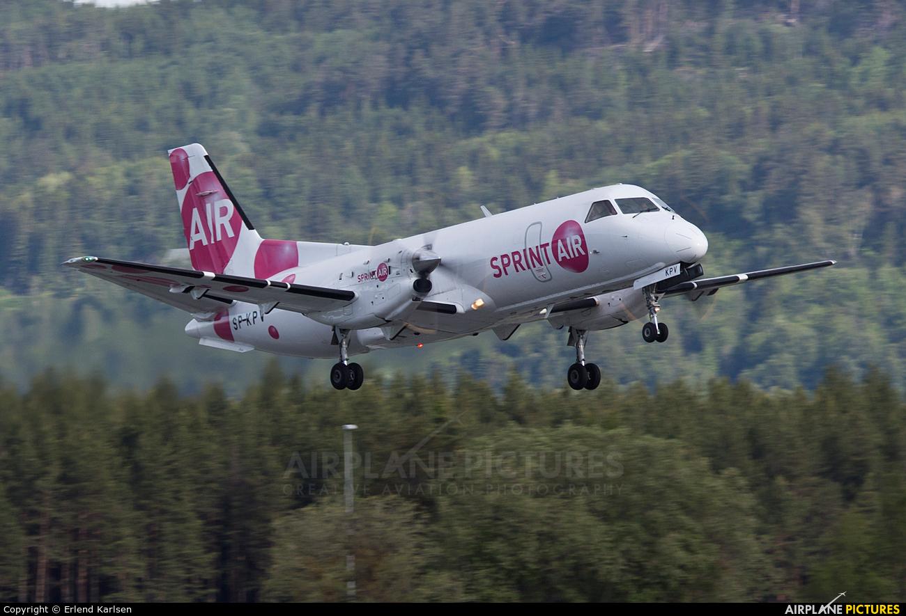 Sprint Air SP-KPV aircraft at Trondheim - Vaernes
