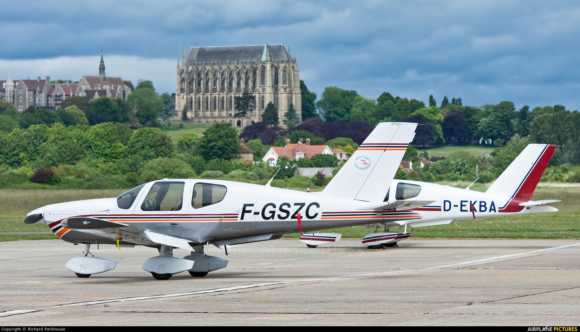 Private F-GSZC aircraft at Brighton - Shoreham
