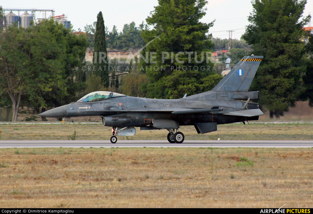Greece - Hellenic Air Force 533 aircraft at Tanagra
