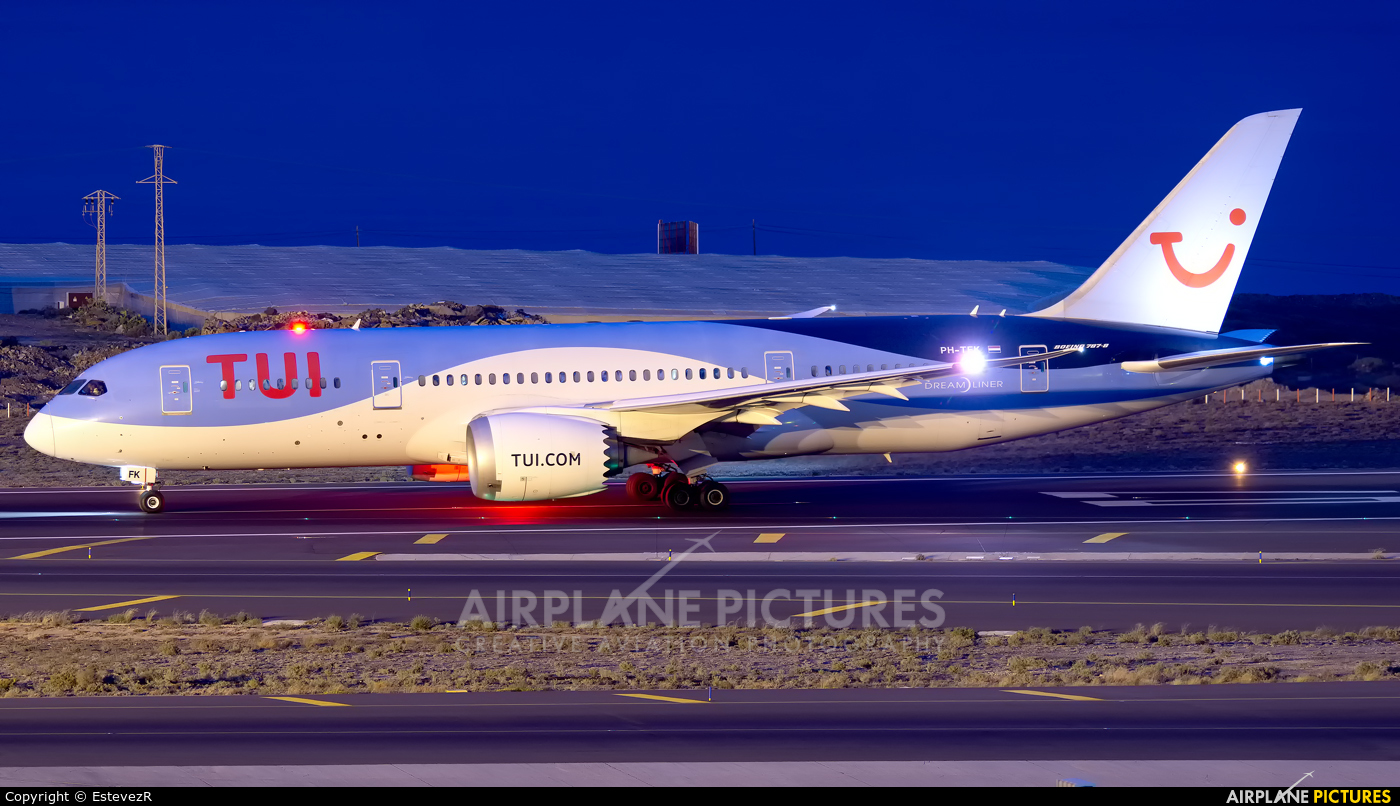 TUI Airlines Netherlands PH-TFK aircraft at Tenerife Sur - Reina Sofia