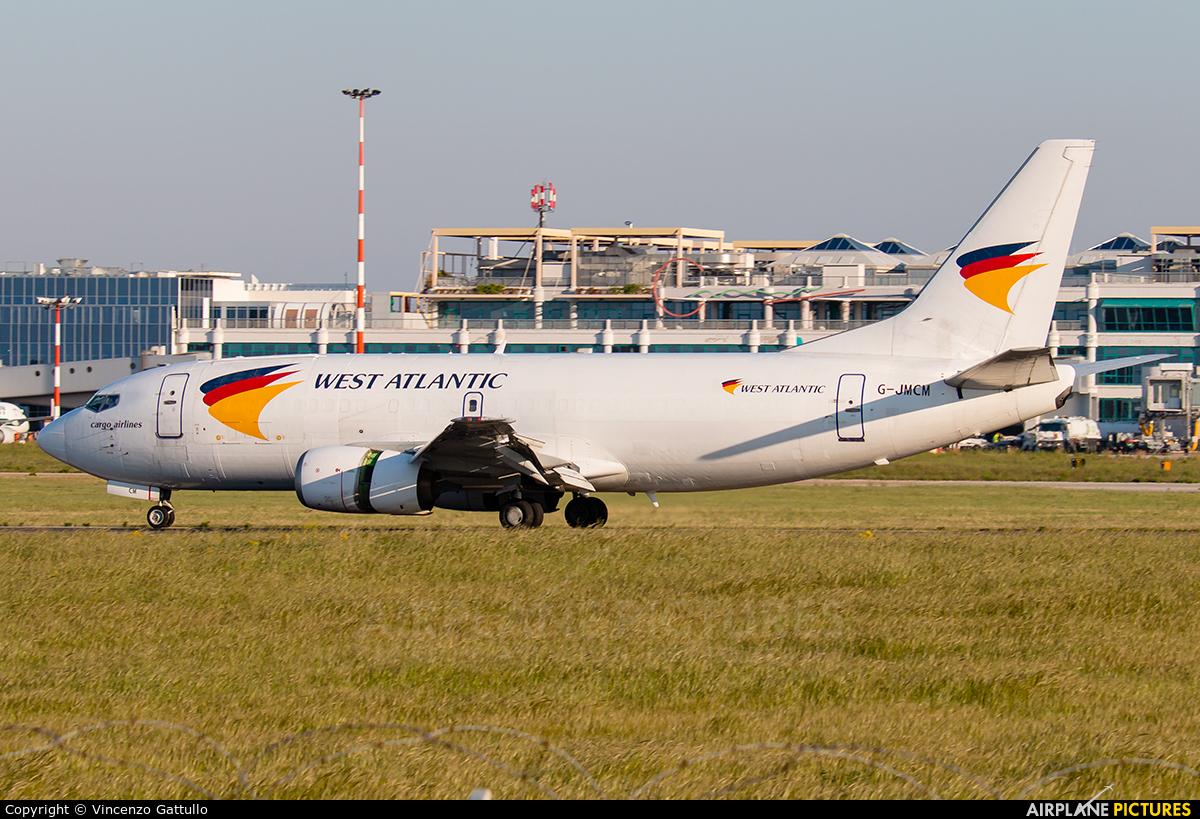 West Atlantic G-JMCM aircraft at Bari