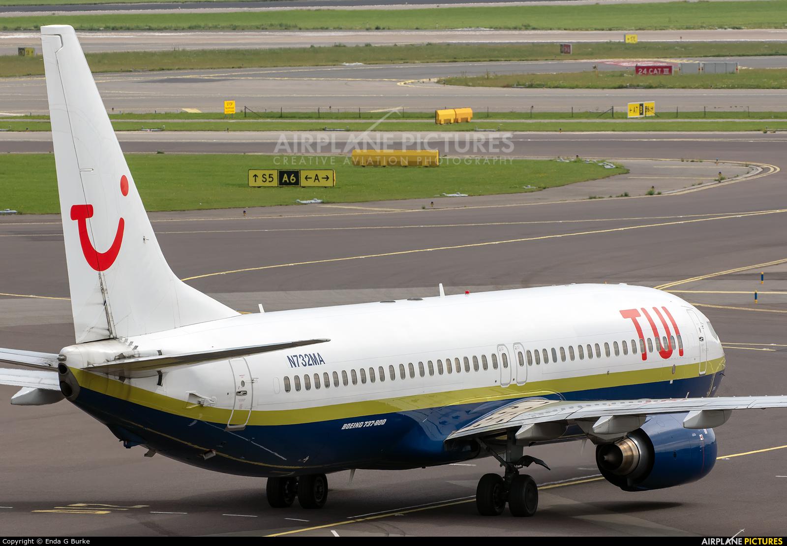 Miami Air N732MA aircraft at Amsterdam - Schiphol