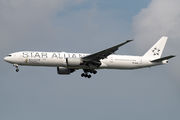 Singapore Boeing 777 painted in Star Alliance livery title=