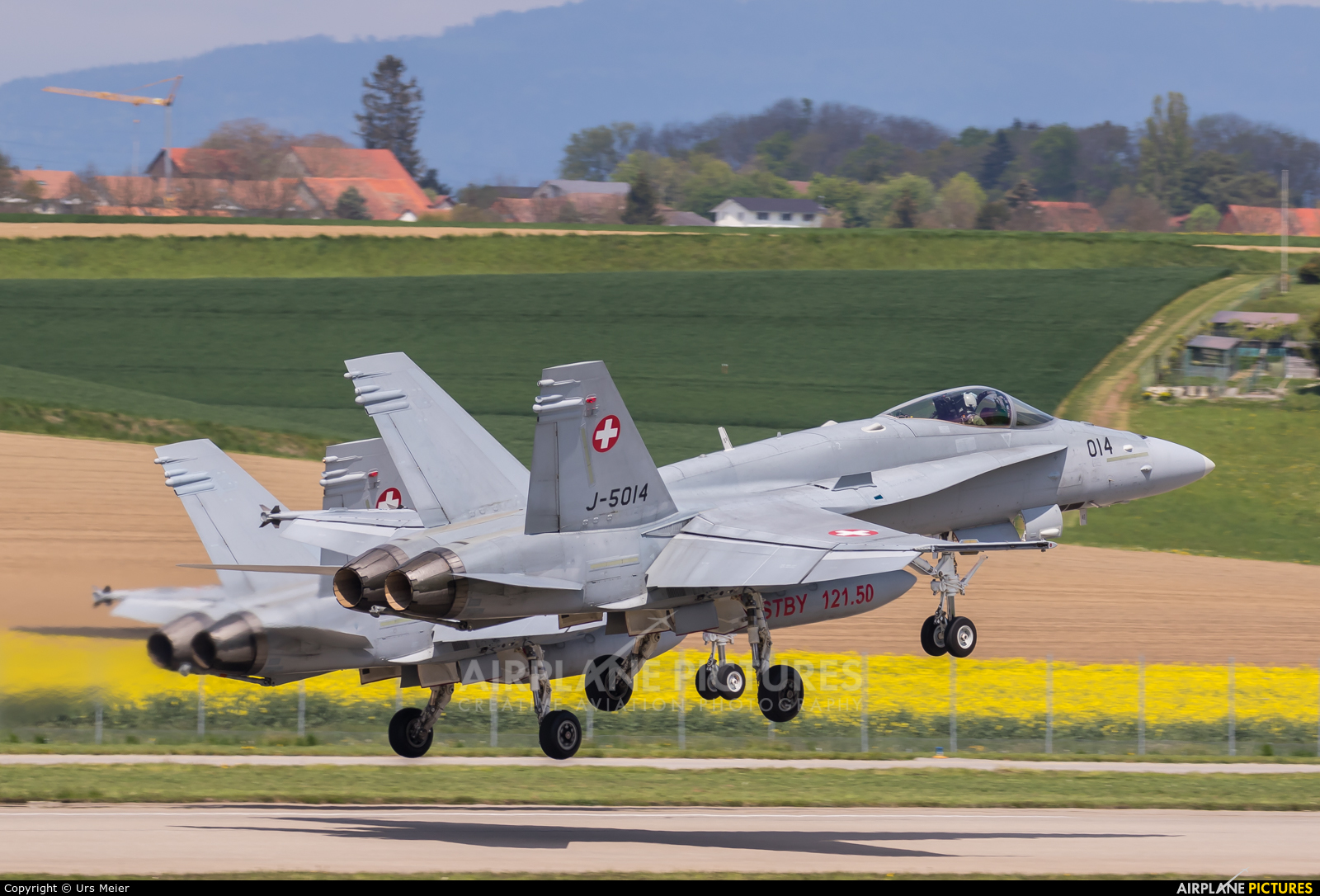 Switzerland - Air Force J-5014 aircraft at Payerne