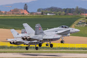 J-5014 - Switzerland - Air Force McDonnell Douglas F/A-18C Hornet aircraft
