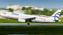 SX-DGL - Aegean Airlines Airbus A320 aircraft