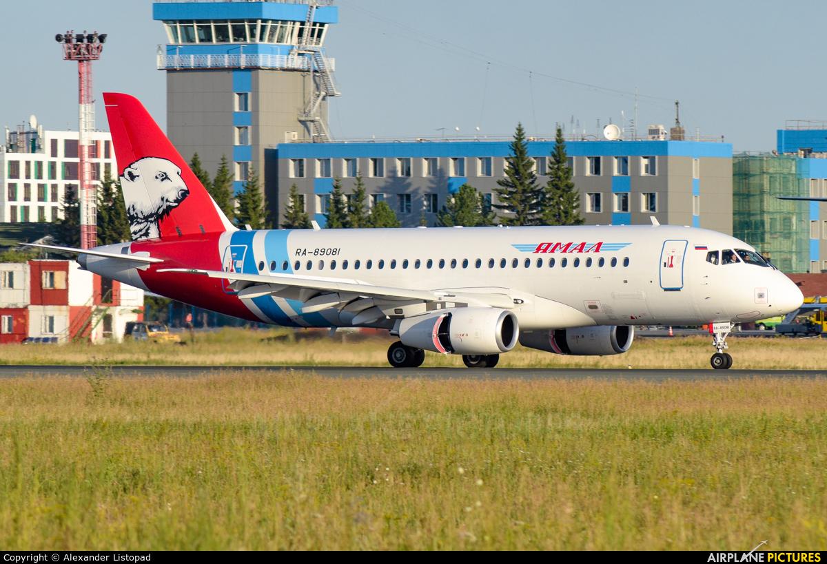 Yamal Airlines RA-89081 aircraft at Novosibirsk