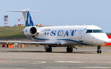 UP-CJ008 - SCAT Airlines Canadair CL-600 CRJ-200