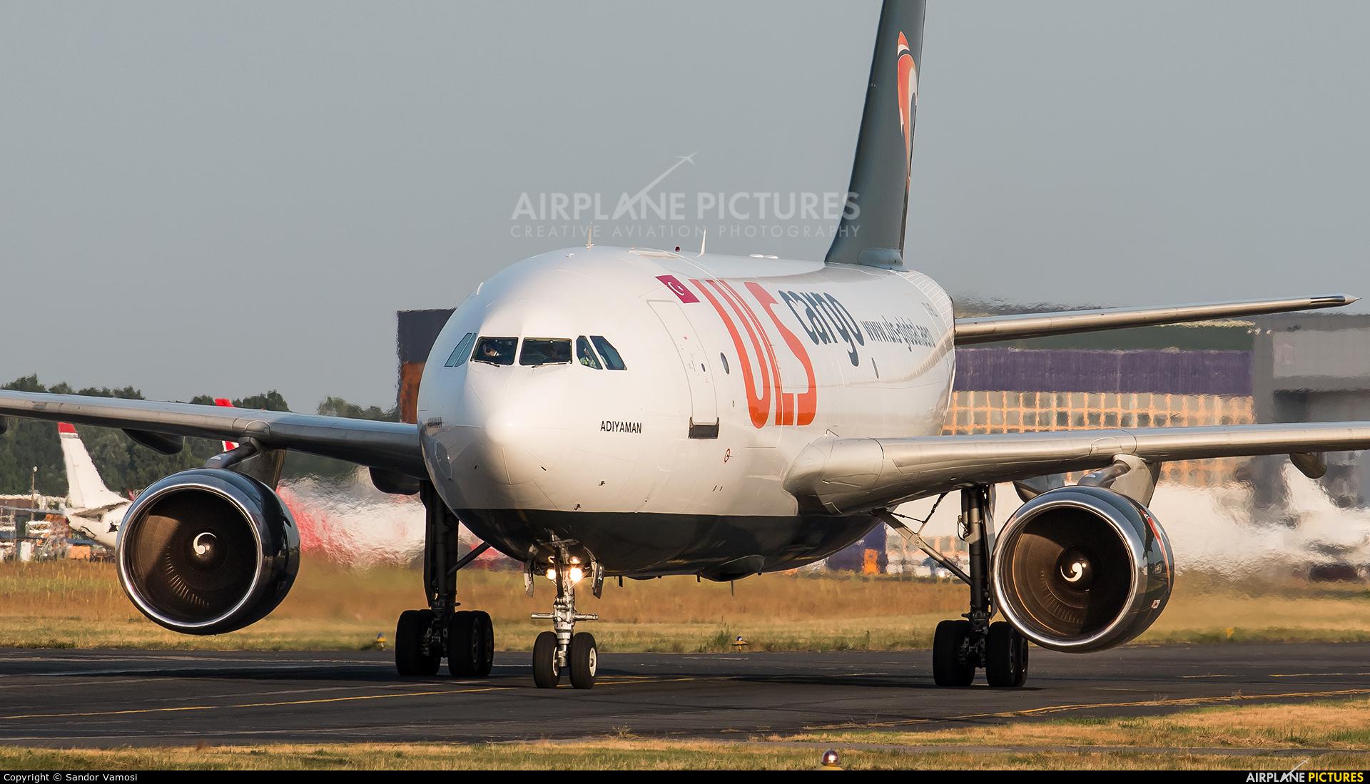 ULS Cargo TC-VEL aircraft at Budapest Ferenc Liszt International Airport
