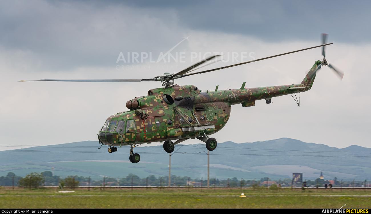 Slovakia -  Air Force 0845 aircraft at Piestany