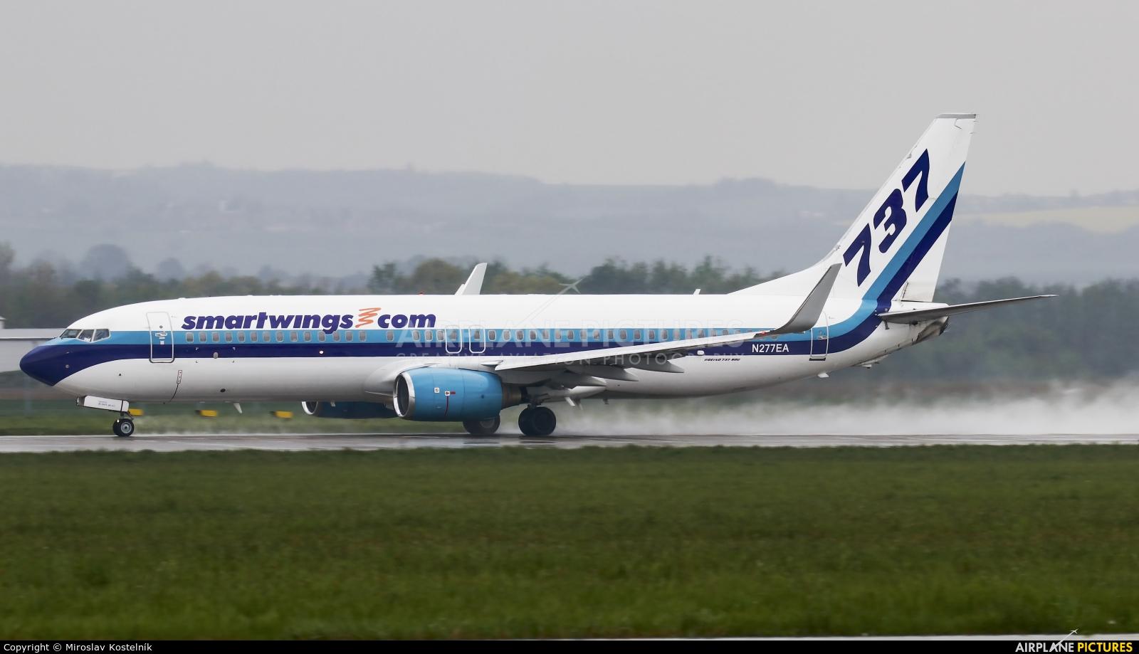 SmartWings N277EA aircraft at Ostrava Mošnov