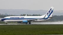 N277EA - SmartWings Boeing 737-800 aircraft