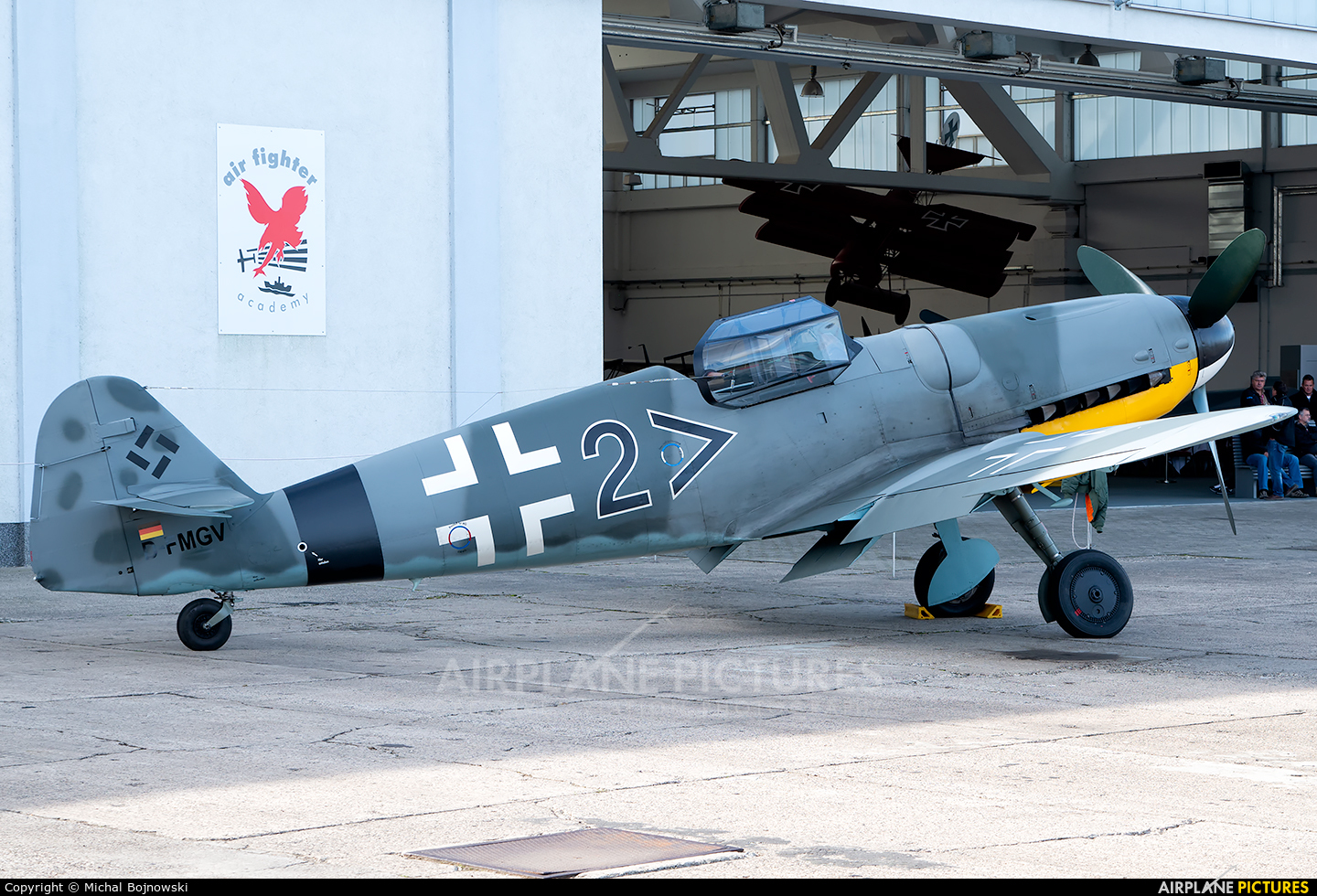 Hangar 10 Air Fighter Collection GmbH D-FMGV aircraft at Heringsdorf