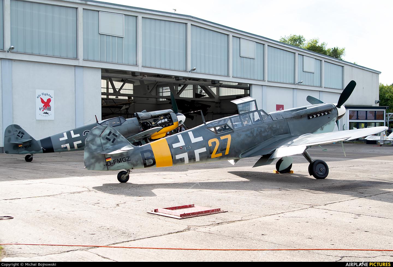 Hangar 10 Air Fighter Collection GmbH D-FMGZ aircraft at Heringsdorf