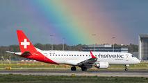 HB-JVQ - Helvetic Airways Embraer ERJ-190 (190-100) aircraft