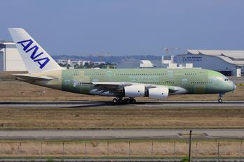 F-WWSH - ANA - All Nippon Airways Airbus A380