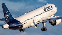 D-AINM - Lufthansa Airbus A320 NEO aircraft